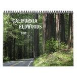 Calendario de las secoyas de California 2012