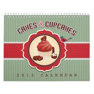 Calendario de las tortas y de las magdalenas