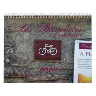 Calendario de Les Bicyclettes 2010