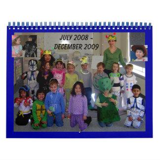 Calendario de levantamiento de las estrellas