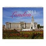 Calendario de Londres 2011