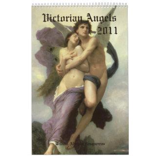 Calendario de los ángeles 2011 del Victorian