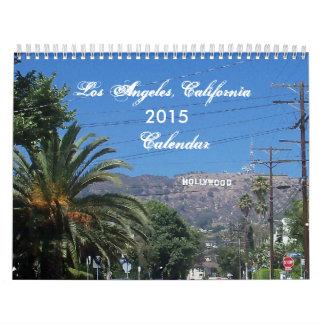 Calendario de Los Ángeles, California 2015