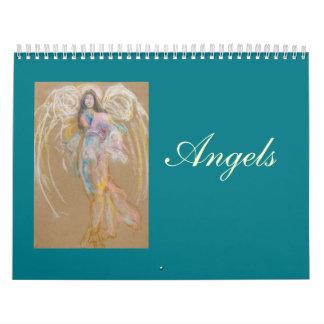 Calendario de los ángeles: Dibujos en colores