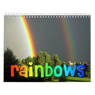 Calendario de los arco iris