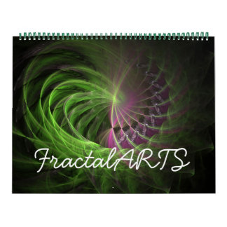 Calendario de los ARTES V2 2012 del fractal