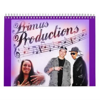 Calendario de los artistas 2012 de las