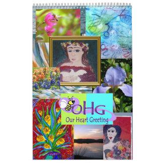 Calendario de los artistas 2012 del ms