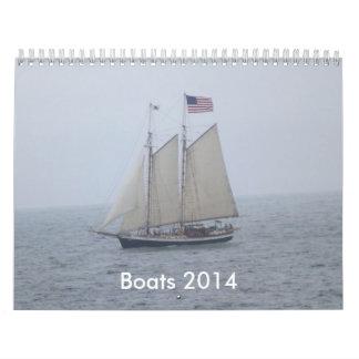 Calendario de los barcos 2014