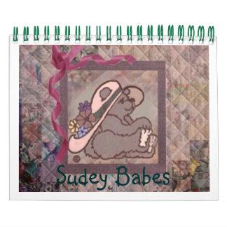 Calendario de los bebés 2013 de Sudey