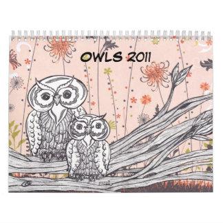 Calendario de los BÚHOS 2011
