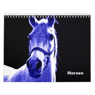 Calendario de los caballos 2017