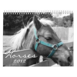 Calendario de los caballos