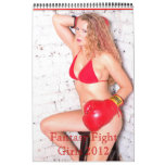 Calendario de los chicas 2012 de la lucha de la fa