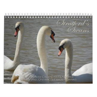 Calendario de los cisnes de Stratford