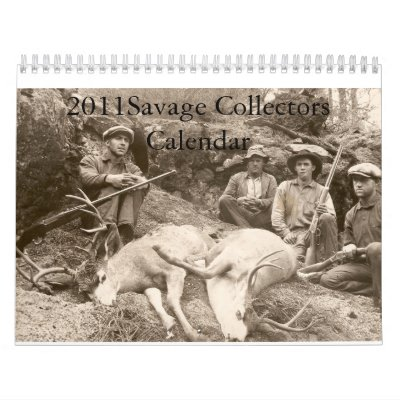 calendario de los colectores 2011Savage