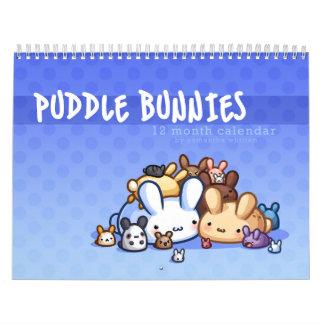 Calendario de los conejitos del charco