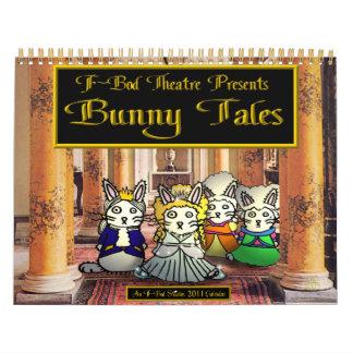 Calendario de los cuentos 2011 del conejito