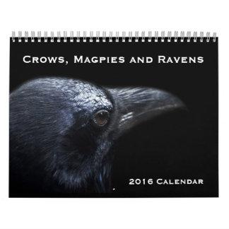 Calendario de los cuervos, de las urracas y de los