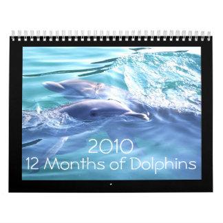 Calendario de los delfínes 2010