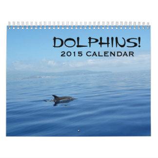 Calendario de los delfínes 2015