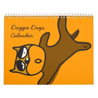 Calendario de los días 2010 del perrito
