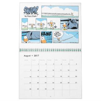 Calendario de los dibujos animados del pato del