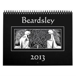 Calendario de los ejemplos 2013 de Nouveau del art