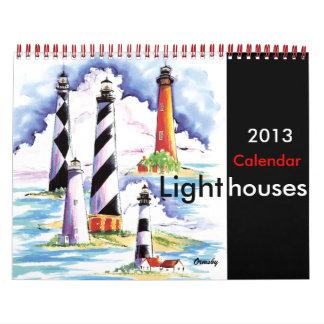Calendario de los faros 2013