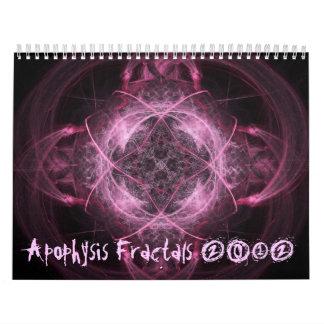 Calendario de los fractales 2012 del Apophysis