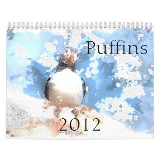 Calendario de los frailecillos 2012