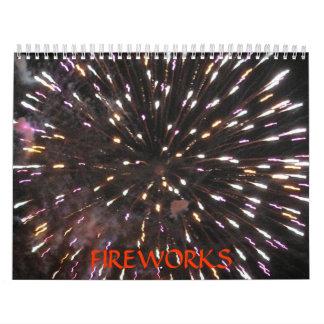 Calendario de los fuegos artificiales