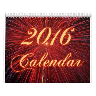 Calendario de los fuegos artificiales 2016
