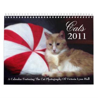 Calendario de los gatos 2011