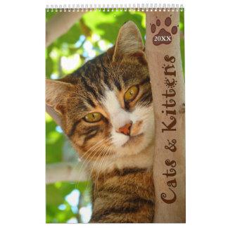 Calendario de los gatos y de los gatitos 2016 de