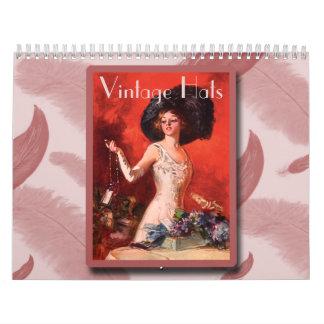 Calendario de los gorras 2013 del vintage