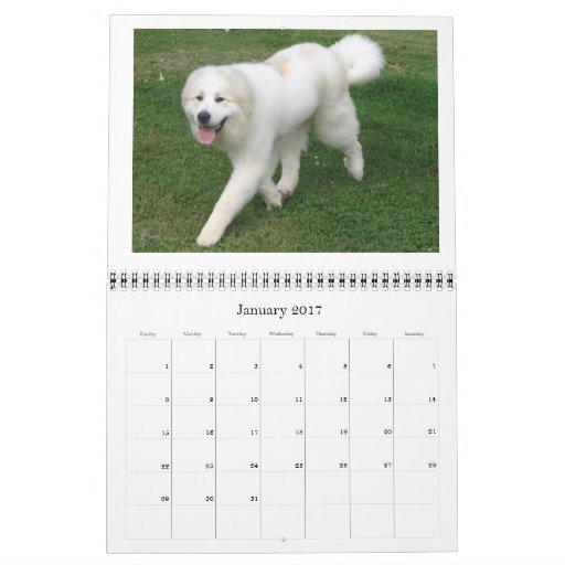 Calendario de los grandes Pirineos