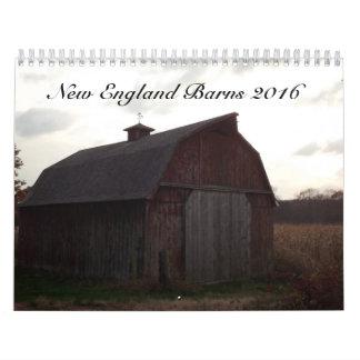 Calendario de los graneros 2016 de Nueva