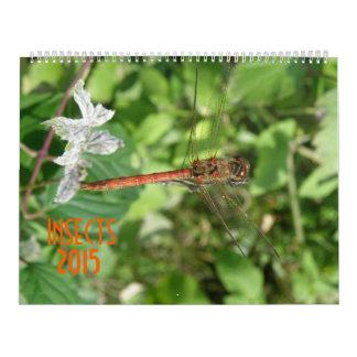 Calendario de los insectos 2015