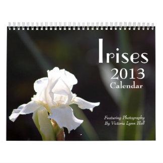 Calendario de los iris 2013