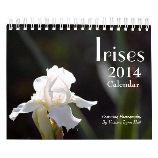 Calendario de los iris 2014