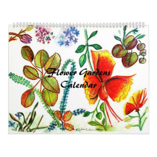 Calendario de los jardines de flores