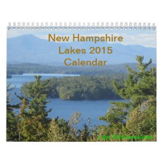 Calendario de los lagos 2015 new-hampshire