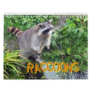Calendario de los mapaches