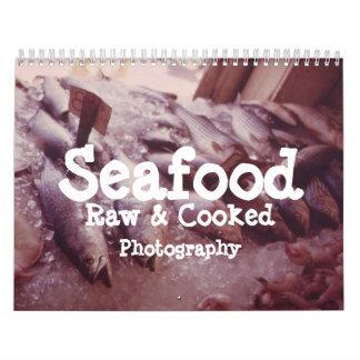 Calendario de los mariscos