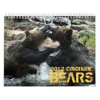 Calendario de los osos