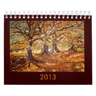 Calendario de los PAISAJES