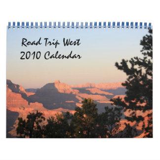 Calendario de los paisajes 2010