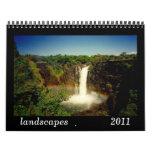 calendario de los paisajes 2011