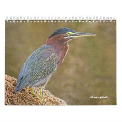 Calendario de los pájaros de la Florida